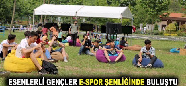 ESENLERLİ GENÇLER E-SPOR ŞENLİĞİNDE BULUŞTU