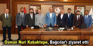 Osman Nuri Kabaktepe, Bağcılar'ı ziyaret etti