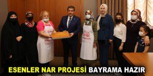 NAR PROJESİ BAYRAMA HAZIR