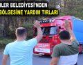 ESENLER BELEDİYESİ'NDEN FELAKET BÖLGESİNE YARDIM TIRLARI