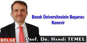 Bozok Üniversitesinin Başarısı: Kenevir