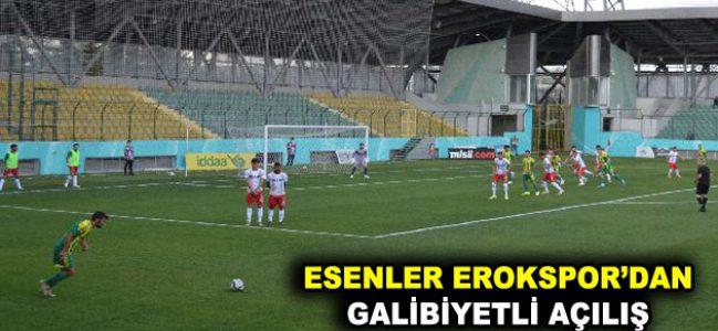 EROKSPOR SEZONU GALİBİYETLE AÇTI