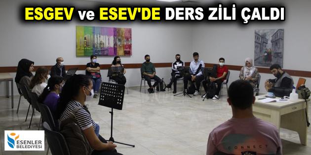 ESGEV ve ESEV'DE DERS ZİLİ ÇALDI