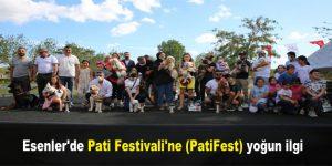 Esenler'de Pati Festivali'ne (PatiFest) yoğun ilgi