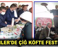 ESENLER'DE ÇİĞ KÖFTE FESTİVALİ